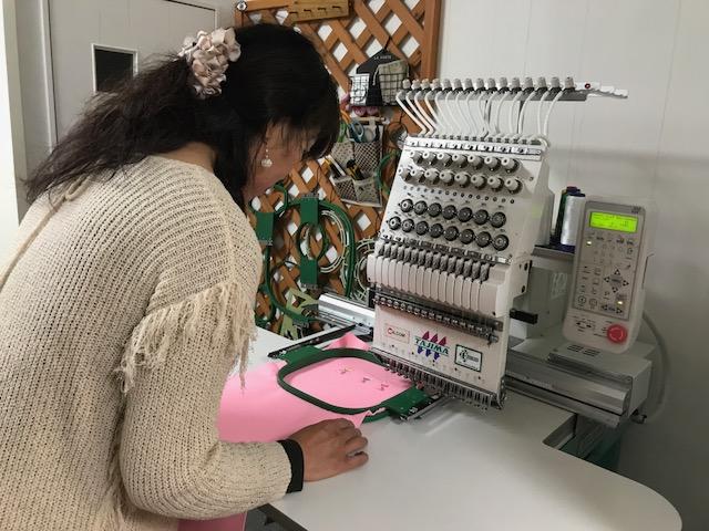 ミシン刺繍教室♪ 色々、いろいろ💛