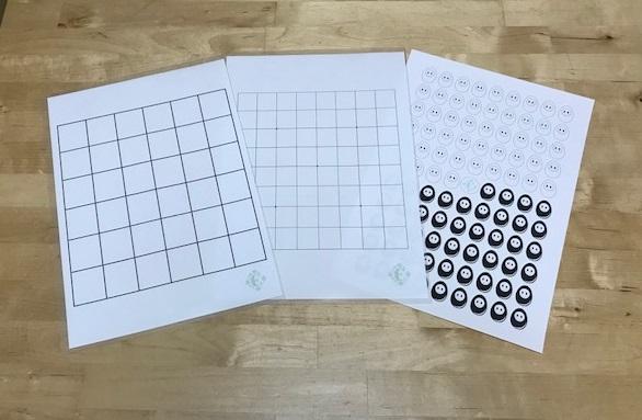 詰将棋6×6升と 囲碁の9路盤&たま碁ちゃんのデザインダウンロードに挑戦だすっ!!