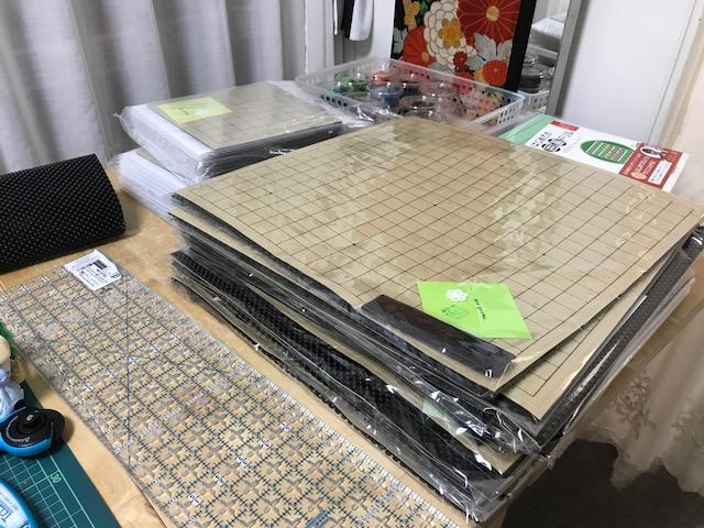 魔法のフェルト碁盤の注文を頂きました 。゚(゚^o^゚)゚。 嬉しい ありがとうございます!!