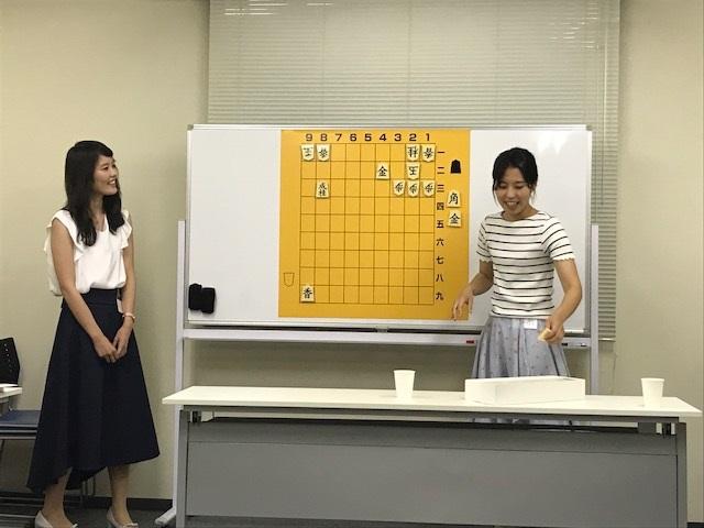 女流棋士 里見香奈さん&里見咲紀さんの 女性将棋教室 5日目 最終回。