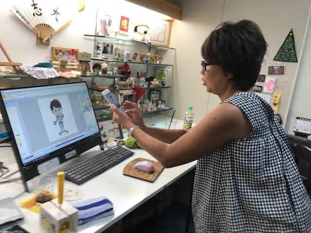 ミシン刺繍教室♪ 感謝・感謝 。゚(゚^o^゚)゚。