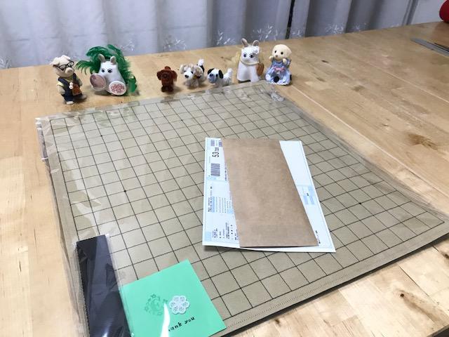 魔法のフェルト碁盤 19路盤の注文頂きました。ありがとうございますですっ!!!