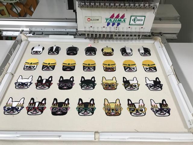 モリココさんの刺繍データの鬼検品と試し縫いをコツコツ♪