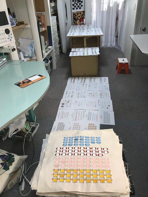 モリココさんの刺繍CDプレビュー一覧完成致しました!!  (*´ω`*)