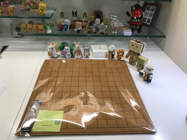 フェルト製 中将棋盤のご注文頂きましたです。 ありがとうございます(*´ω`*)♡