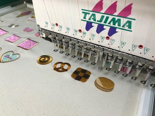 由美さんの刺繍CD企画♡ クッキーとチョコレートの鬼検品🍪