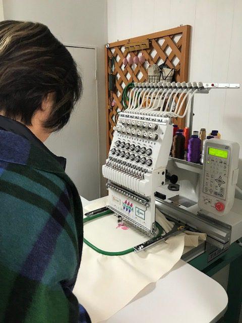 ミシン刺繍教室♪ 二泊三日のミシン刺繍合宿 3日目♪