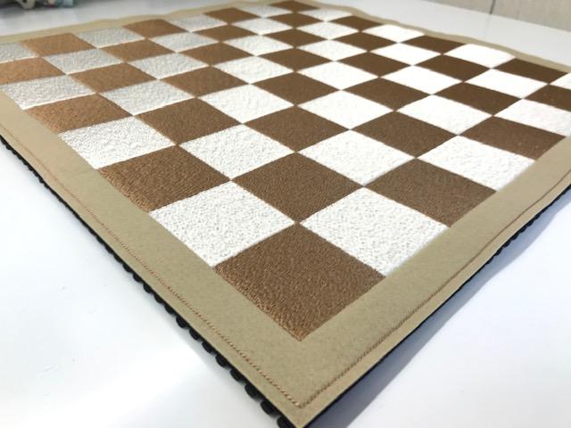 フェルト製チェス盤 写真撮影♪