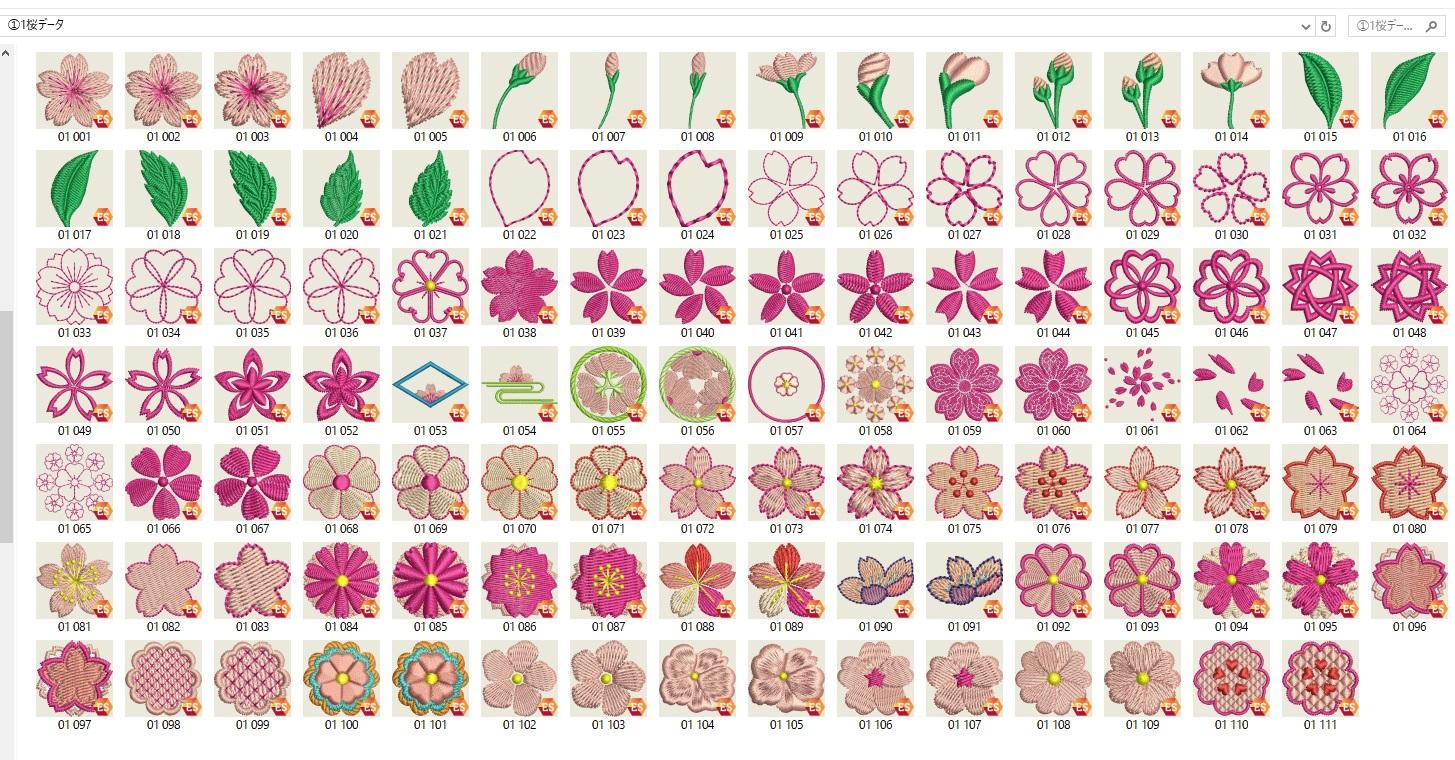 和柄刺繍CD企画 その27    寸法表の作成 &データ登録☆彡