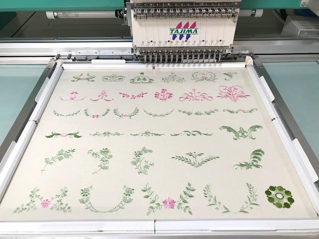 コラボ刺繍CD企画 その25 試し縫い完了ヾ(≧▽≦)ノ♡