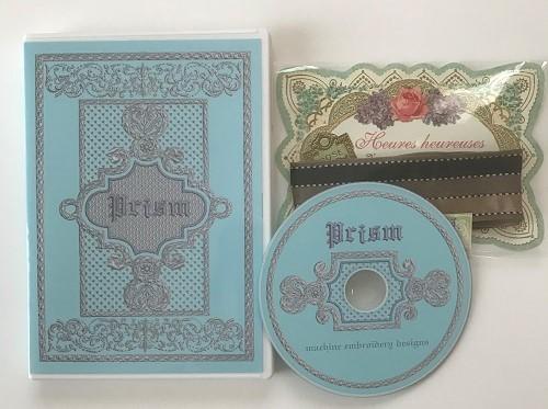プリズム刺繍CDで早速刺繍して下さり ありがとうございます。