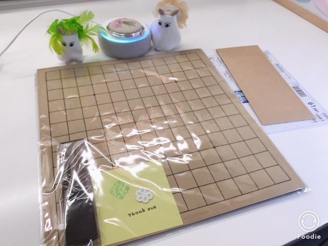 魔法のフェルト碁盤13路盤のご注文頂きましたヾ(≧▽≦)ノ♡