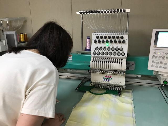ミシン刺繍教室♪ 新規の生徒様♡ 目から鱗がポロポロポロ。