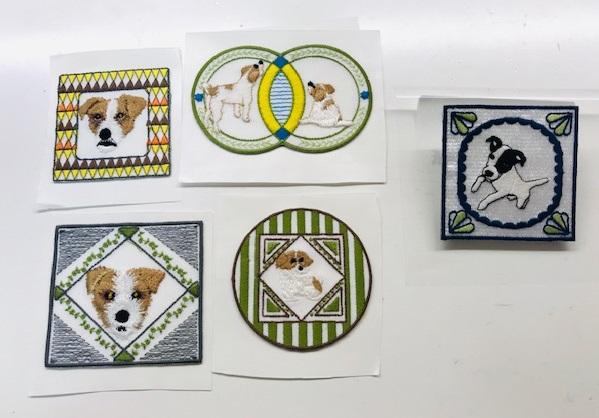 ミシン刺繍教室♪ さくらちゃんママとの刺繍CD企画の打ち合わせ♡