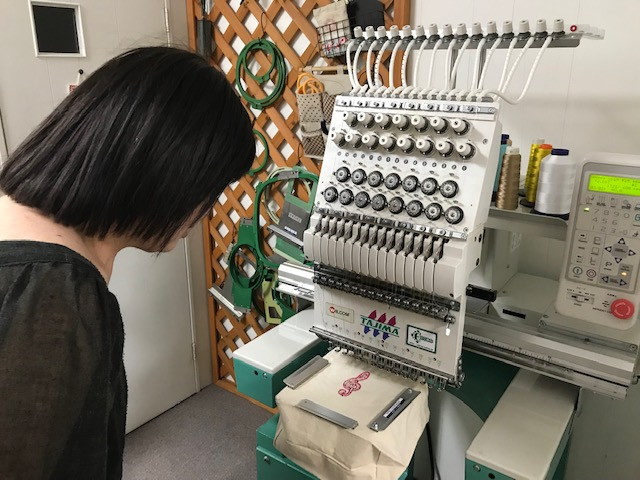 ミシン刺繍教室♪ ミシン刺繍の可能性に夢と未来の希望!!