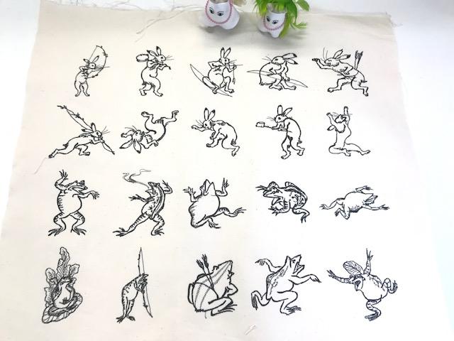 ミシン刺繍教室の Q & A    と和柄刺繍CDの宣伝 (*目ω目*)&(*目ω目*)