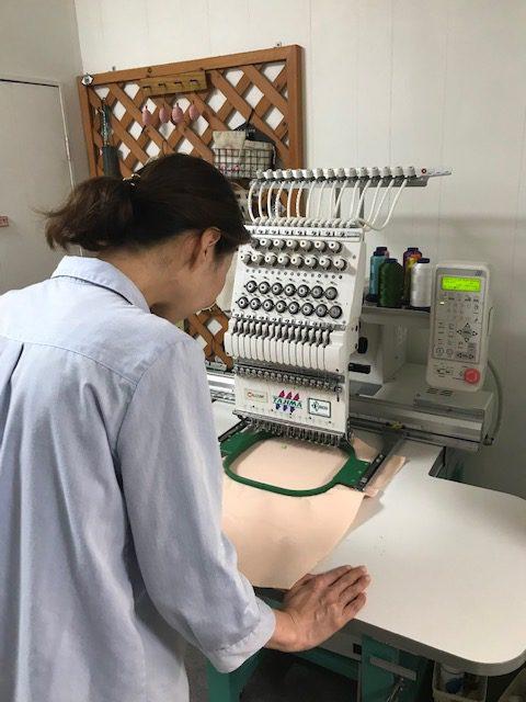 ミシン刺繍教室♪ お忍びレッスン パート2 (笑)