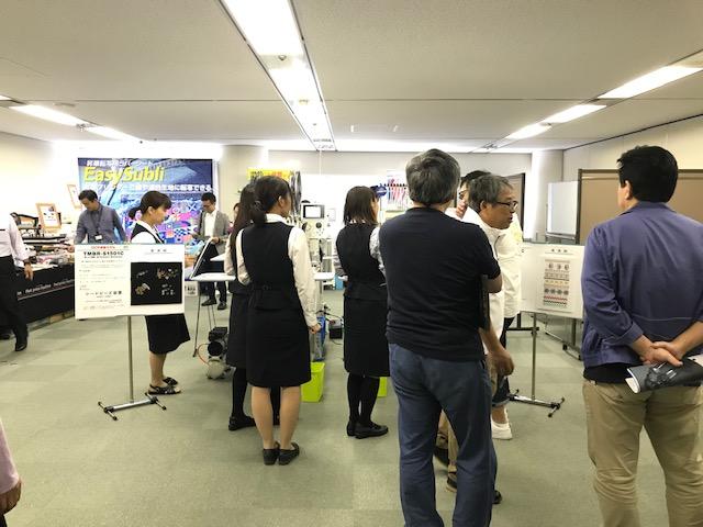 中日本ジューキ様 刺繍機展に行って来ました。