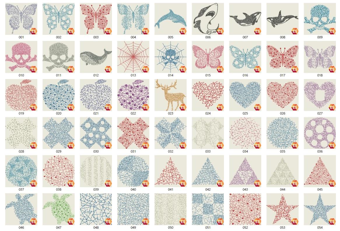 A刺繍工房刺繍CD企画 その9   クモの巣刺繍モチーフの鬼検品♪