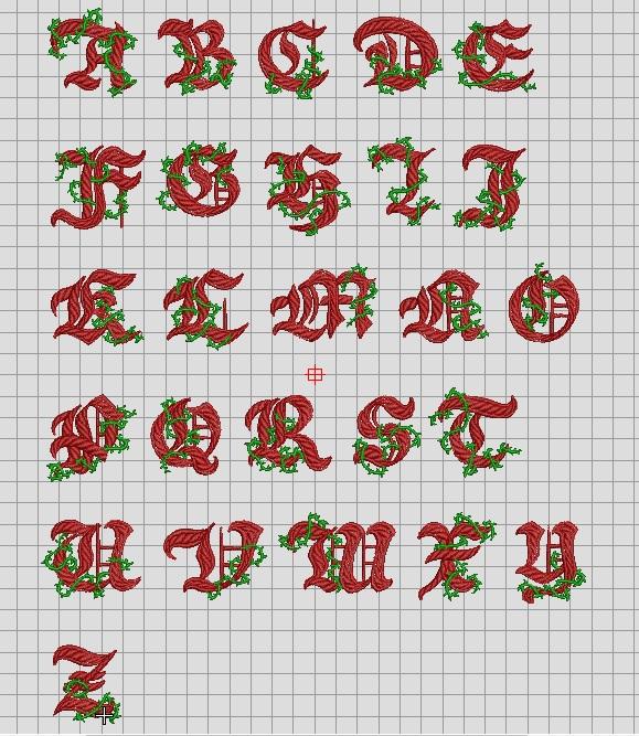 刺繍CD企画♪ 魔法&ファンタジー♪ その6 フォントの鬼鬼検品♪♪