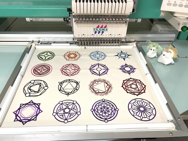 刺繍CD企画♪ 魔法&ファンタジー♪ その15 試し縫い1