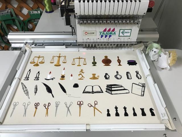 刺繍CD企画♪ 魔法&ファンタジー♪ その16 試し縫い2