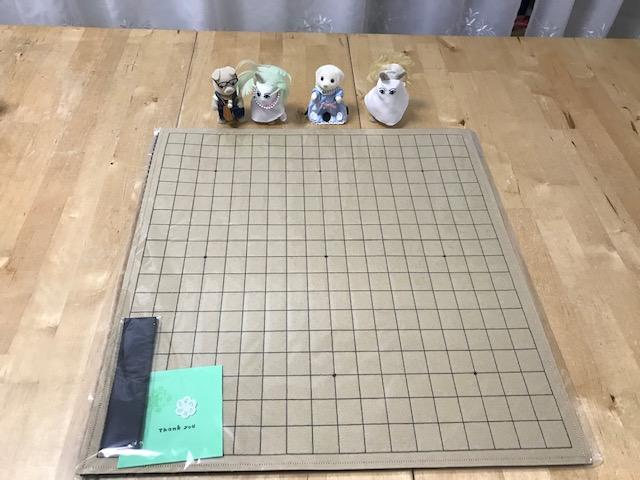 魔法のフェルト碁盤19路盤 ご注文頂きましてありがとうございます。