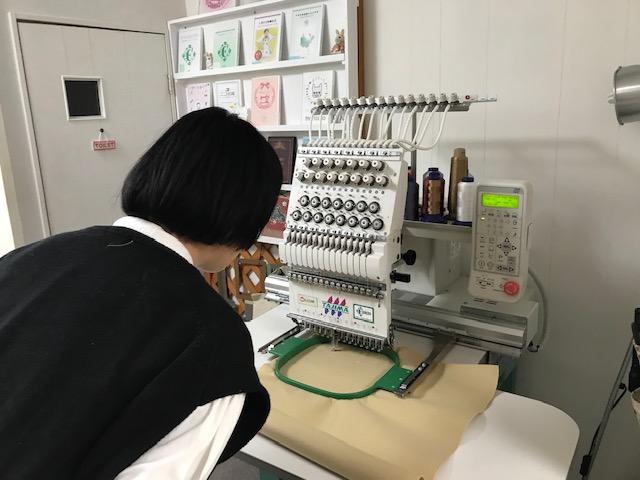 ミシン刺繍教室♪ 新規の生徒様 ミシン刺繍の基礎の基礎♪ 他