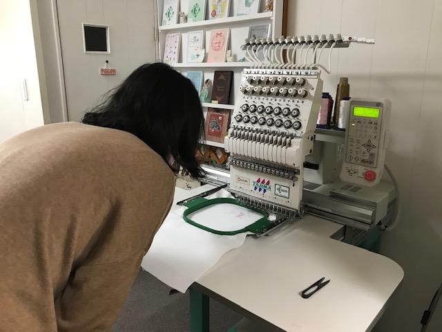 ミシン刺繍教室♪ 刺繍プロで出来る事。初めの一歩♪ 新規の生徒様♪