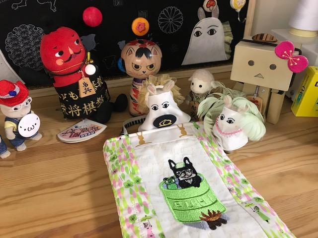 ミシン刺繍合宿♪ 一日目♪♪  ( *´艸`)ミシン刺繍は面白いよ!!