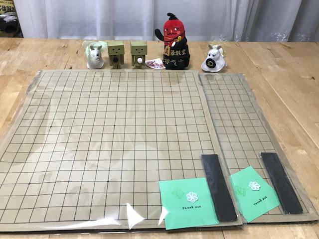 魔法のフェルト碁盤19路盤のご注文頂きまして大変ありがとうございます。