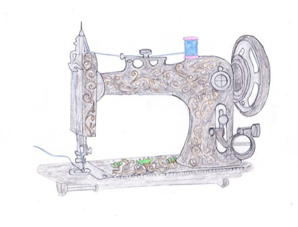 デコレーションズ刺繍CD企画♡ その6 アンティークミシン刺繍データ製作♪ entrance embroidery