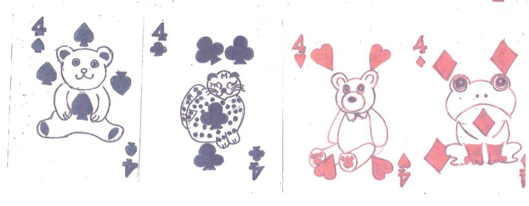 デコレーションズ刺繍CD企画♡ その25 トランプ データ製作♪ entrance embroidery