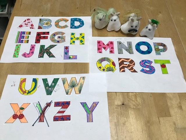 デコレーションズ刺繍CD企画♡ その41 アルファベットのデータ製作♪ entrance embroidery