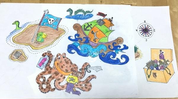 デコレーションズ刺繍CD企画♡ その81 海賊のデータ製作♪ entrance embroidery