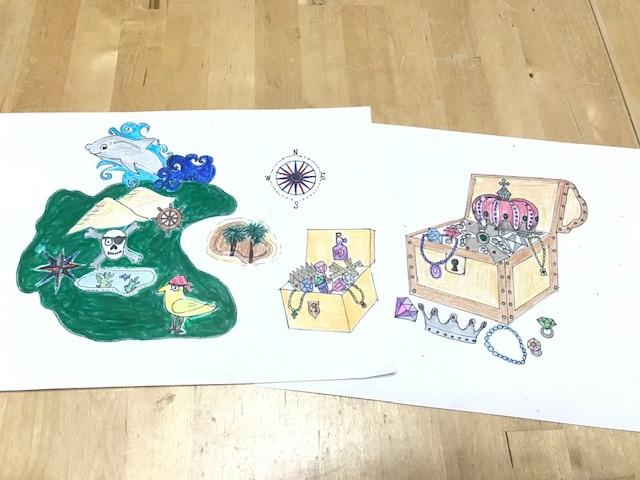 デコレーションズ刺繍CD企画♡ その80 海賊のデータ製作♪ entrance embroidery