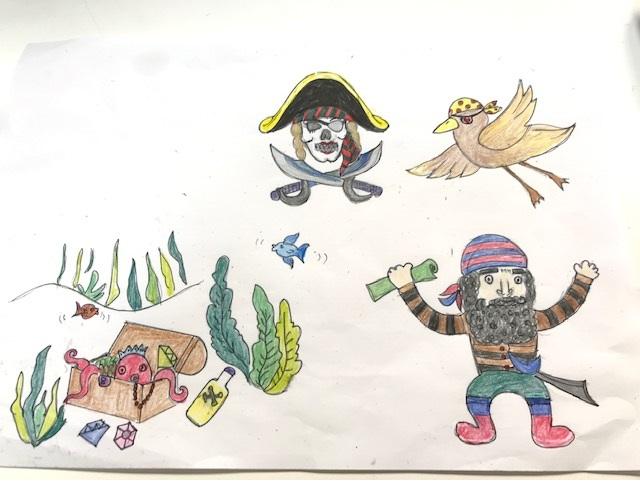 デコレーションズ刺繍CD企画♡ その83 海賊のデータ製作♪ entrance embroidery
