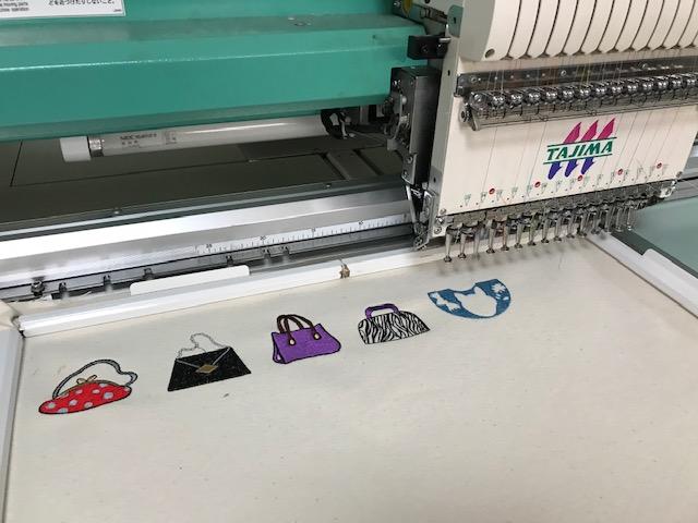 デコレーションズ刺繍CD企画♡ その102♪ 試し縫い entrance embroidery