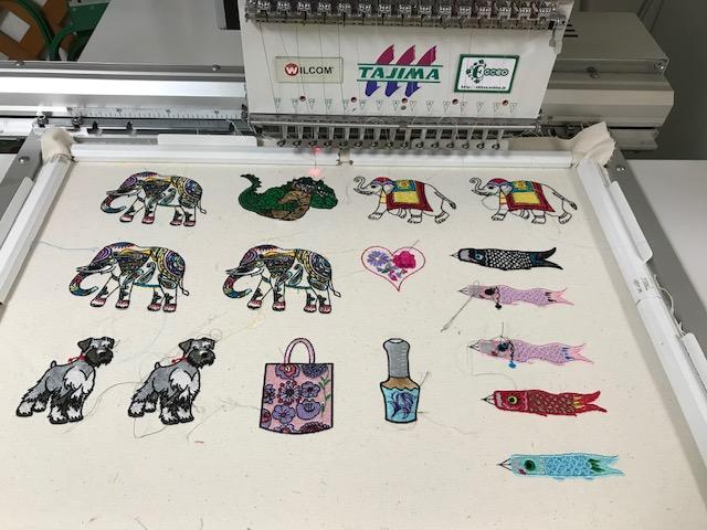 デコレーションズ刺繍CD企画♡ その109♪ データの登録作業♪ entrance embroidery