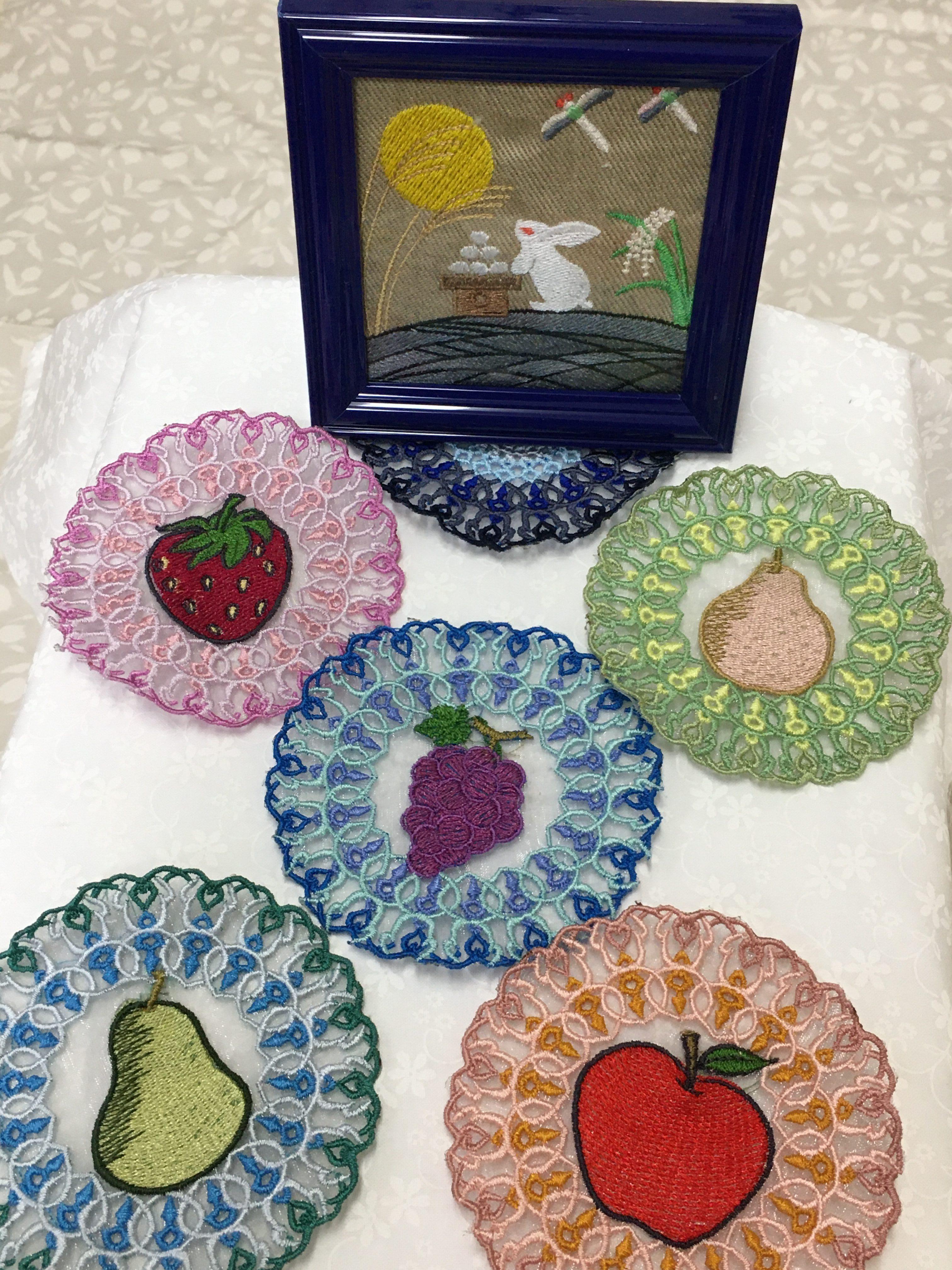 『DECO刺繍CD』早速試し縫いをして頂きました。感謝!! パート4