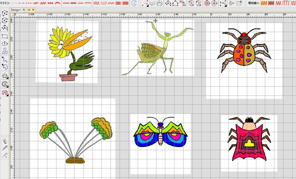 新刺繍CD企画 その26 ユニークな刺繍データ製作♪ 刺繍CDのご注文ありがとうございます。。゚( ゚இωஇ゚)゚。
