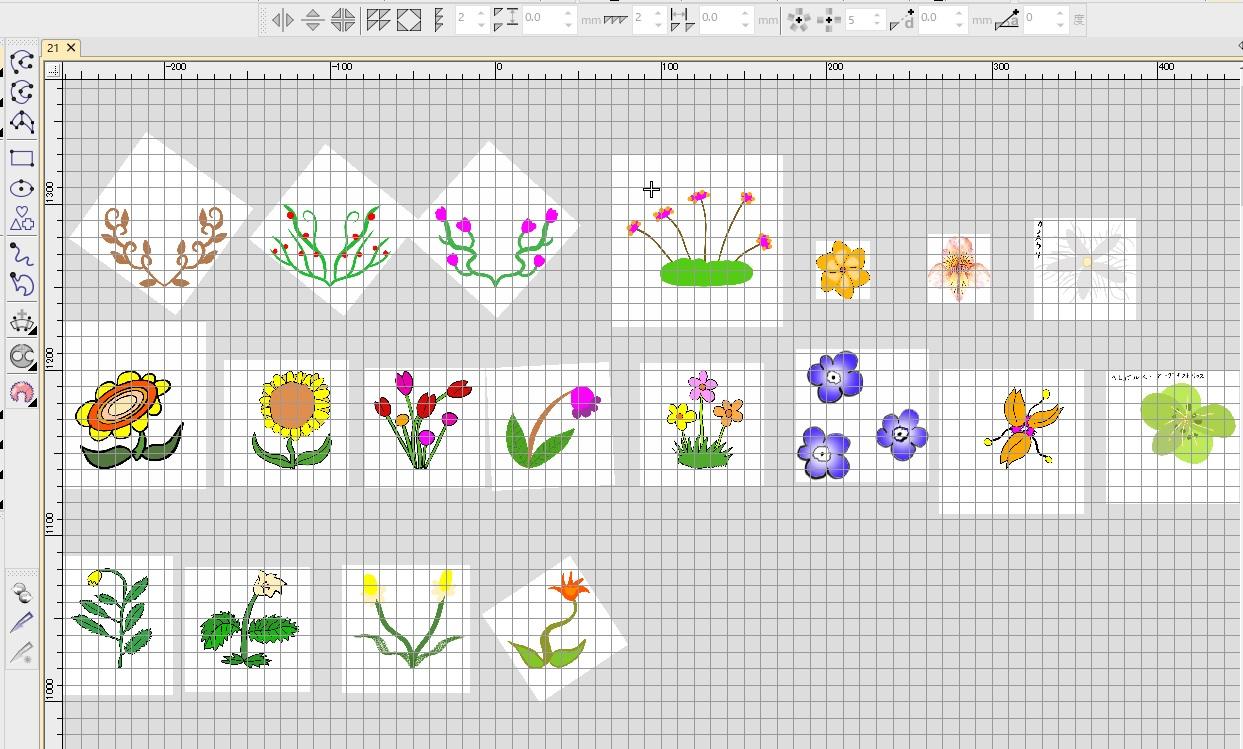 新刺繍CD企画 その27  お花の刺繍データ製作♪ 和柄刺繍CDのご注文ありがとうございます✨