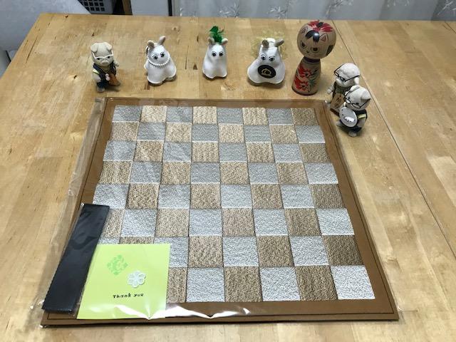 フェルト製 チェス盤 40 数字無しの商品のご注文頂きました。ありがとうございます。