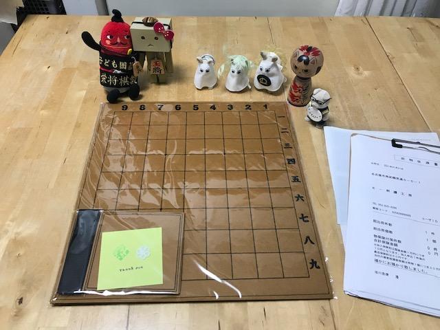フェルト製 数字入り 将棋盤 (茶色)のご注文頂きました✨ あ誠にありがとうございます。