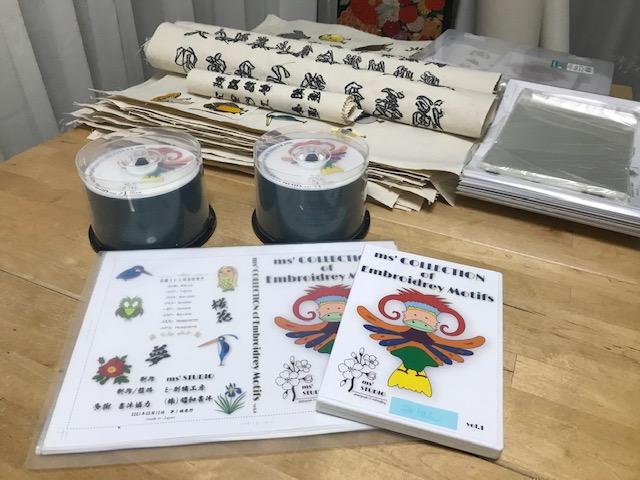 新刺繍CD企画 その85 ms' STUDIO刺繍CDに命を吹き込みました♪ プレビュー動画♪