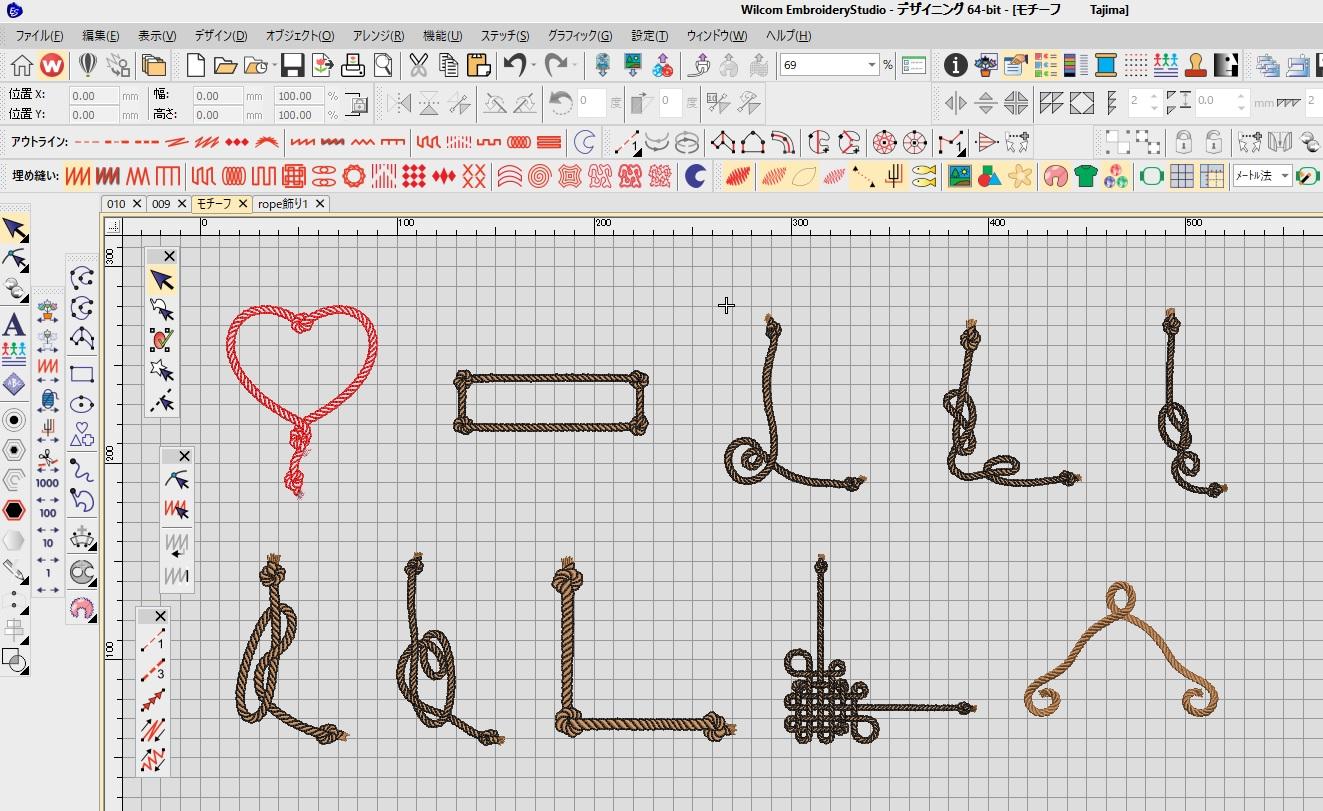 Classical刺繍CD企画♪ その35 モチーフ刺繍の検品♪