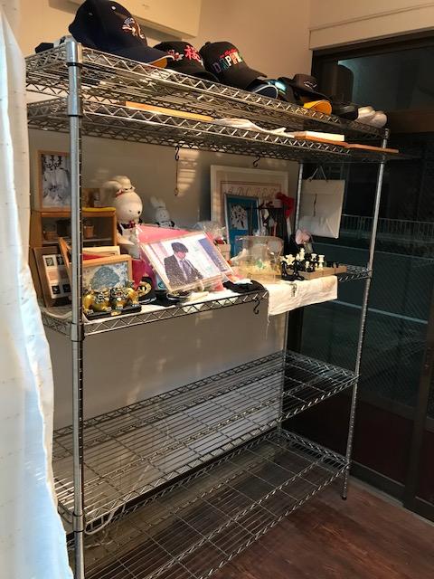 工房のリフォーム31  玄関の棚の片付け。 棚の買い物👛