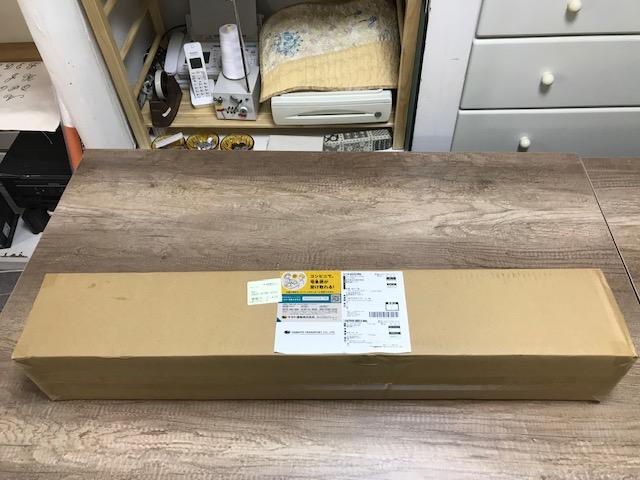 工房のリフォーム35 壁紙 シールが届きました。
