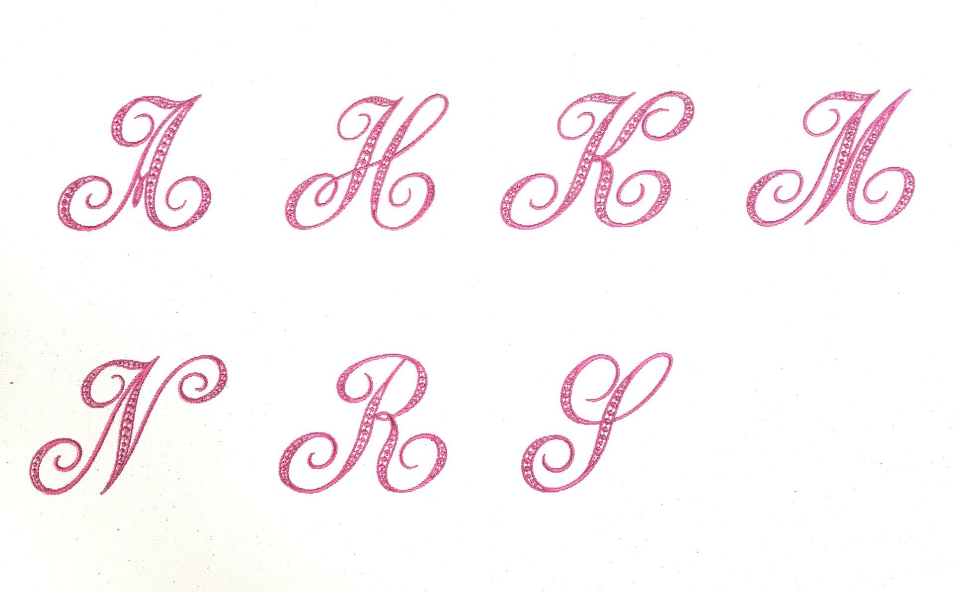 プリズム刺繍さんデザインSphère font (スフェールフォント) 発売開始✨
